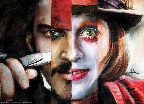 Johnny Depp Discovered By On We Heart It