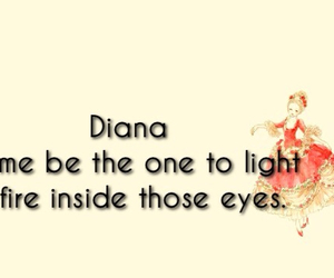 diana, eyes, and fire image