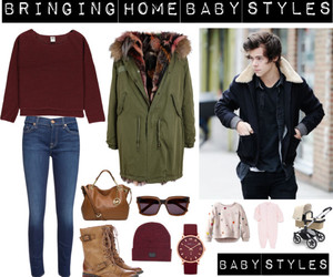 one direction imagine, Harry Styles, and outfits imagine image