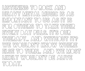 quote, band, and heavy metal image