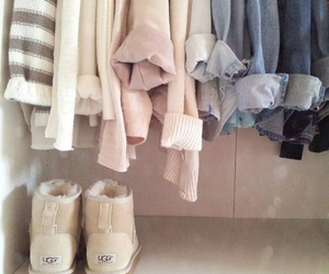 fashion, clothes, and ugg image