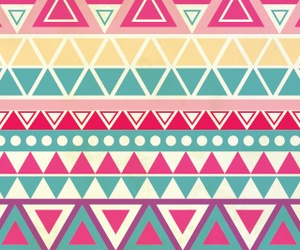 aztec and pink image