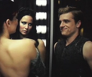 catching fire, peeta, and hunger games image