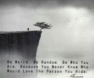 quotes, weird, and random image