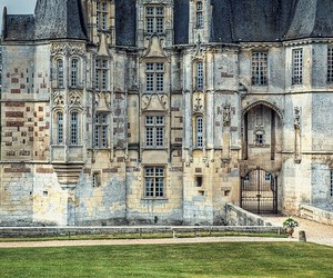 castle, france, and normandy image