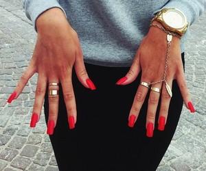 long nails, m3, and nail art image