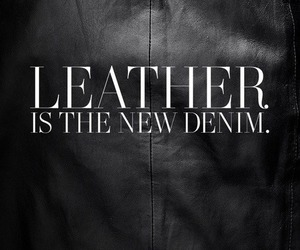 leather, fashion, and black image
