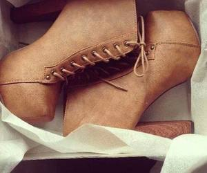 brown, jeffrey cambell, and shoes image