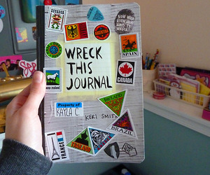 wreck this journal and book image