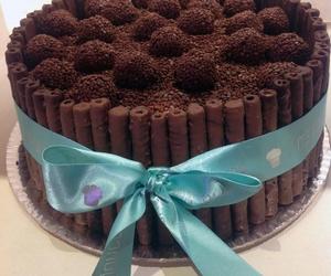 cake, bombon, and chocolate image