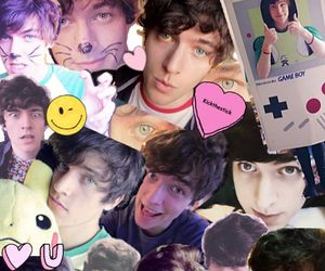 Collage, youtuber, and kickthepj image
