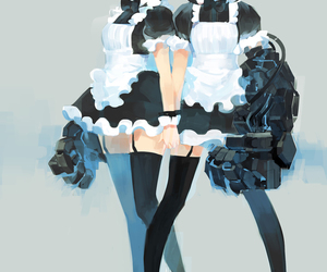 maid and art image