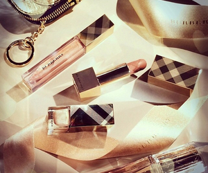 Burberry, make up, and lipstick image
