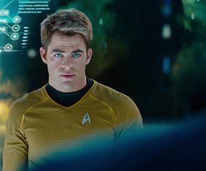 chris pine, star trek, and into darkness image