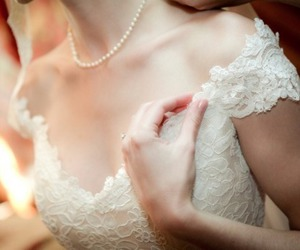dress, pale, and girl image