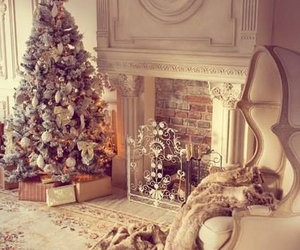 christmas, white, and room image
