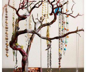 tree, diy, and jewelry image