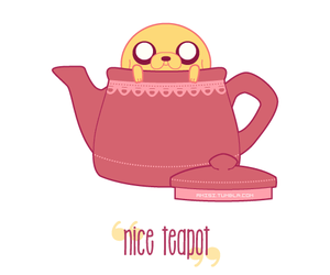 tea and adventure time image