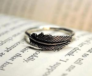 ring, book, and feather image