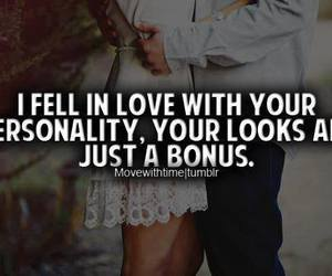 love, personality, and couple image