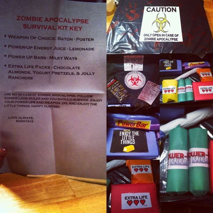 Zombie Survival Kit Diy - Diy (Do It Your Self)