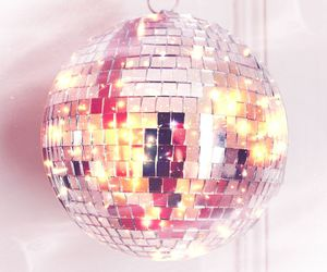 ball, beautiful, and disco image
