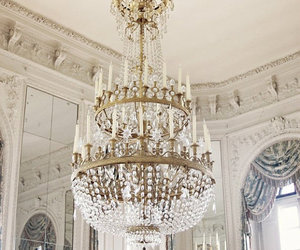 chandelier, interior, and design image