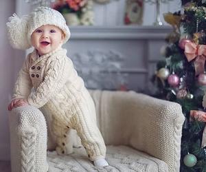 baby, christmas, and sweet image
