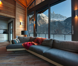 house, mountains, and home image