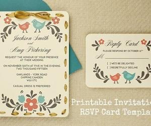 country, invitations, and rustic image
