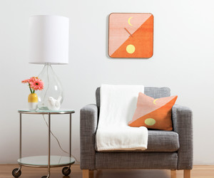 apartment, chair, and crescent moon image