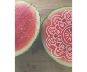 fruit, watermelon, and transparents image