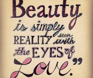 beauty, quote, and reality image