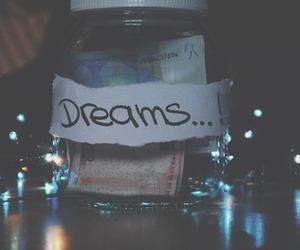Dream and money image