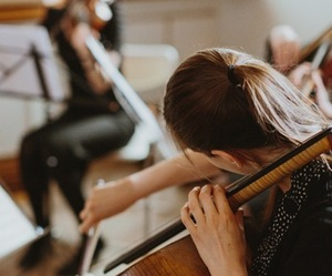 music, cello, and classic image