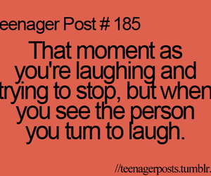 teenager post, laugh, and quote image
