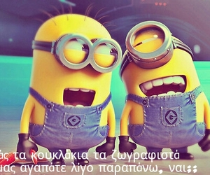 greek, minions, and quotes image