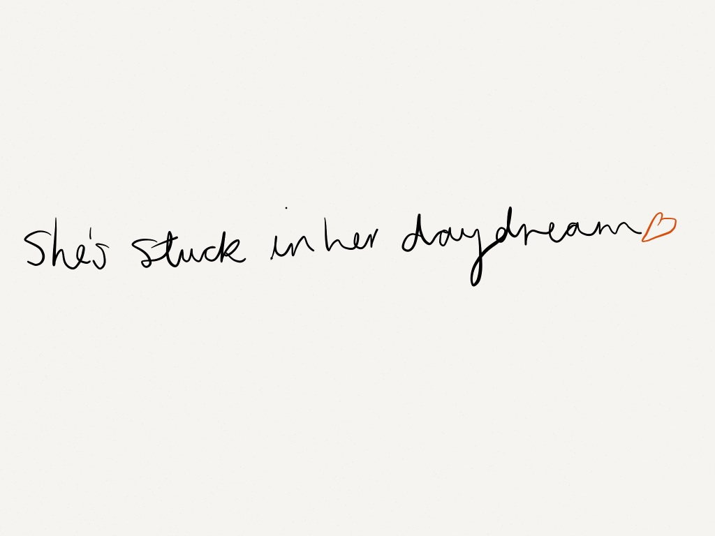 She's Stuck in Her Daydream | via Tumblr on We Heart It