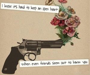 quote, gun, and Guns N Roses image