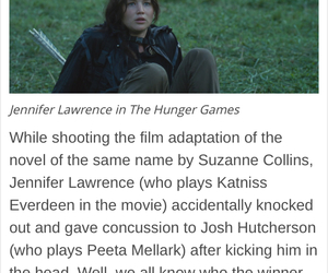 Jennifer Lawrence, lol, and hunger games image