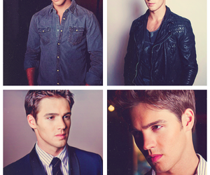 steven r mcqueen, jeremy gilbert, and tvd image