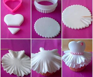 cupcake, diy, and dress image