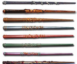 wand, harry potter, and magic image