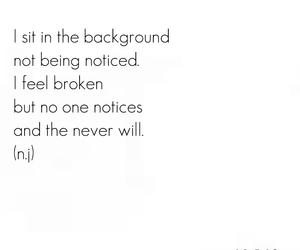 alone, broken, and sad image
