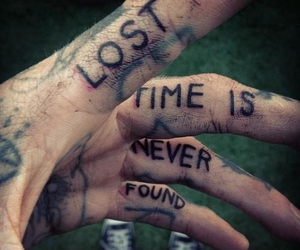 time, tattoo, and lost image