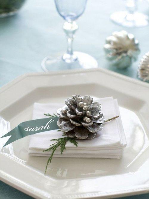 Christmas Table Decor Place Card Holders Http Goo Gl