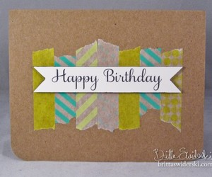 birthday, card, and diy image
