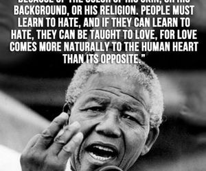 quote, nelson mandela, and hate image