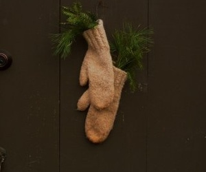 decor, holiday, and rustic image