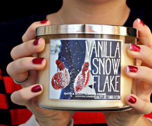 candle, christmas, and vanilla image